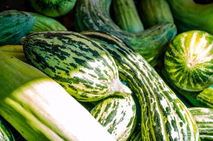 Ξυλάγγουρα! Cretan cucumbers of breed